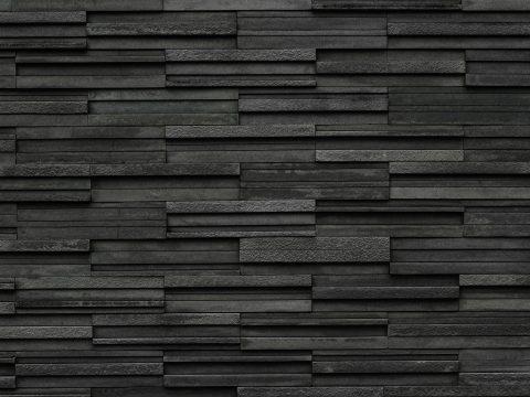 Erhabene Wand aus Dekofliesen