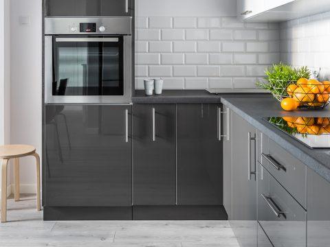 Metro-Fliesen in Küche