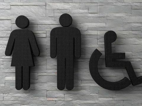 Fliesen für Gastro-Toilette